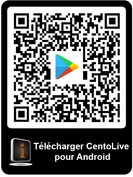 Télécharger CentoLive pour Android QR code