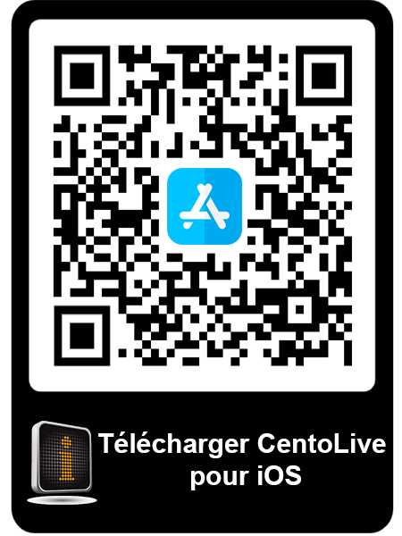 Télécharger CentoLive pour iOS QR code
